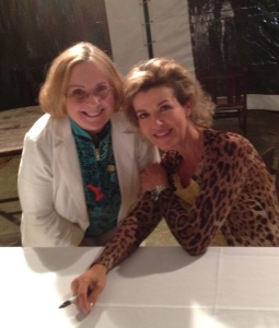 Author with Anne-Sophie Mutter at Tanglewood