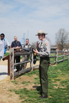 Docent at Fort McHenry