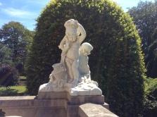 Statuary outside The Elms