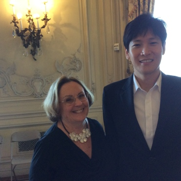 Clare Sweeney and pianist So-Mang Jeagal