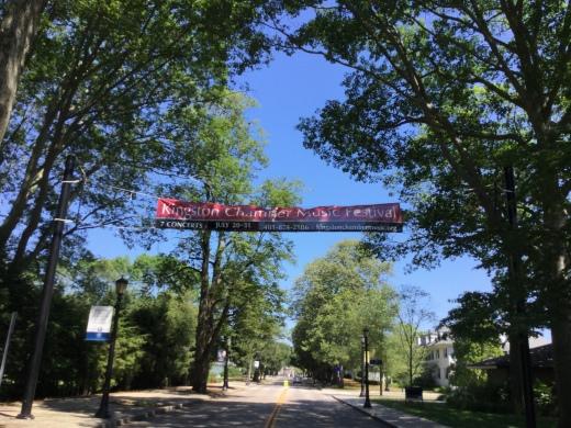 Banner for Music Festival at URI
