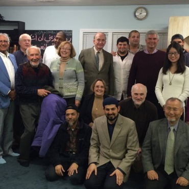 Kingston Congregational Church Members with the Members of the Muslim Community Center of Kingston