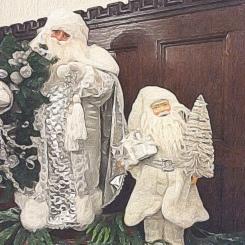 Santas at Ventfort Hall