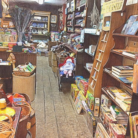 Country Store Interior