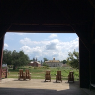 Entrance to Hancock Shaker village