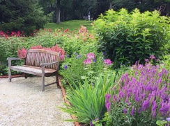 Bench in the French Garden