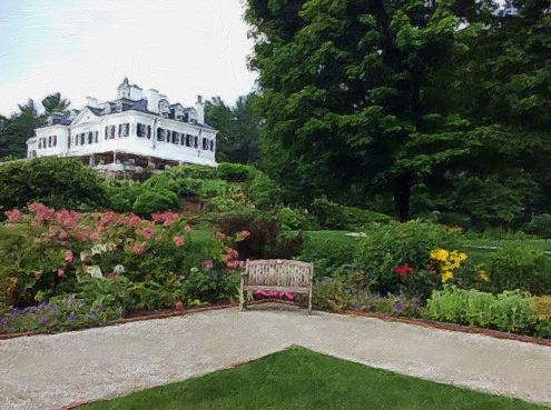 The Mount from the French Garden