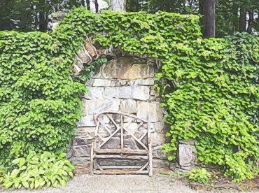 Bench in the Italian Garden