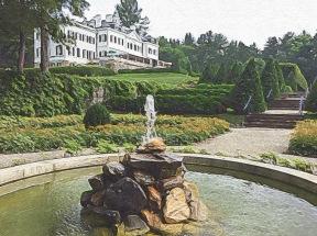 Fountain in the Italian Garden